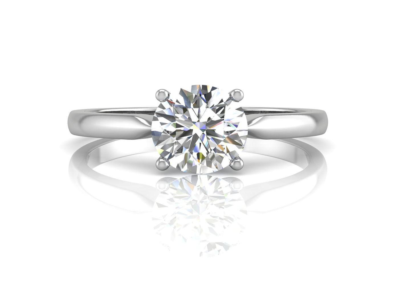 View Our Diamond Solitaire Engagement Ring Collection